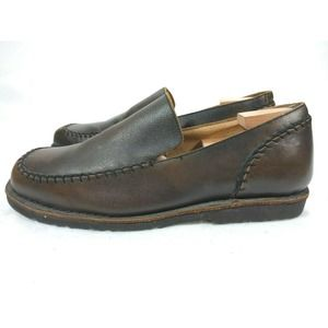 BED STU Loafers Men's 10 Brown Leather Shoes
